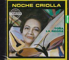 Tona La Negra Noche Criolla CD  New Nuevo Sealed