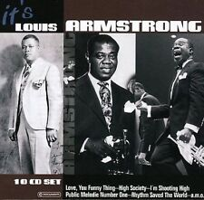 It's Louis Armstrong [10 CD Set] by Louis Armstrong (CD, May-2005, Membrane)