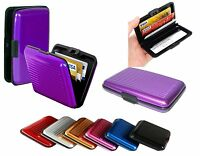 Waterproof Aluminum Metal Pocket Case Box Business ID Credit Card Wallet Holder