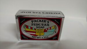 Packers Pine Tar Soap, 3.3 Ounce