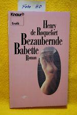 De Roquefort, Henry - Bezaubernde Babette - Roman, Erotik