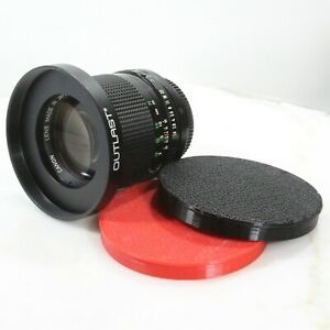 OUTLAST 80mm ID Front Caps Push Caps for 80mm OD Step-Up Ring Caps w 77mm Filter