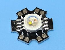 10pcs 4W RGBW High Power LED Light Bead Red Green Blue White Lamp with 20mm star