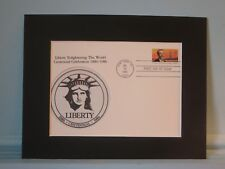 The 100th Anniversary of the Statue of Liberty & F. Bartholdi First Day Cover