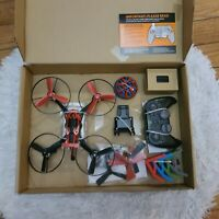 Sky Viper Hover Racer Drone - AUTO Launch, Land, Hover Red Edition - Open Box