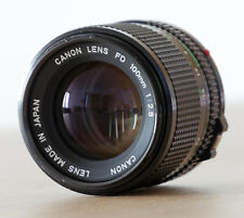 Canon FD 100mm F 2.8 - an Systemkameras adaptierbar