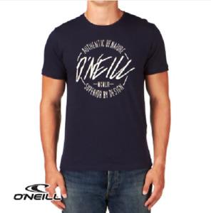 O'NEILL Mens Ink Blue Superior Short Sleeve Crew Neck T-Shirt Top Small BNWT