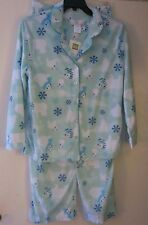 Karen Neuburger L Kn Green Polar Bear Girlfriend Fleece Pajama's 2 Pc Set Bears