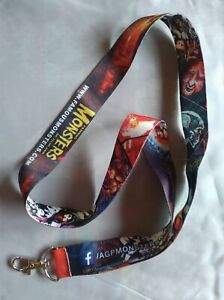 American Gothic Press Famous Monsters of Filmland 2017 Lanyard