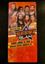 2018 WWE SUMMERSLAM - COLLECTOR 3D TICKET STUB - BROOKLYN - EXCELLENT CONDITION