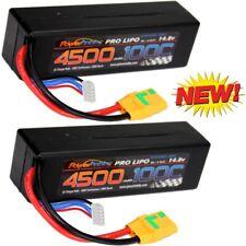 Powerhobby 4s 14.8V 4500mah 100c Lipo Batery Xt90 Hard Case 4-Cell ( 2 Pack )