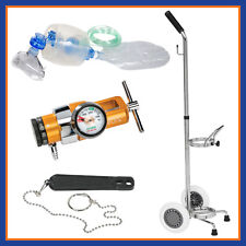 Belmed Emergency Manual Resuscitator Kit Portable System w/ Cart 5048