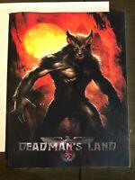 RARE TPB! DEADMANS LAND Werewolves Evil Nazis VIOLENT graphic novel