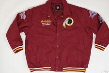 Men's NFL Redskins Superbowl Champions The Quilted Jacket Regular 4XL Red  Athle