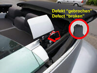 VW Beetle Cabrio Verdeck Defekt Klappe Ohren VW Teilenr. 1800026