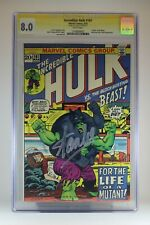The Incredible Hulk 161 CGC 8.0 WP Stan Lee Signature Series Trimpe Englehart