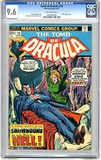 Tomb of Dracula  #19  CGC  9.6  NM+   off - white pages
