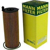Original MANN-FILTER Ölfilter Oelfilter HU 8001 x Oil Filter