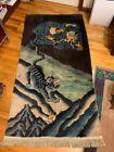Tibetan dragon rug art deco chinese dragon rug dragon tabat rug tibetan rug
