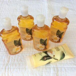 Bath & Body Works White Tea And Ginger Shower Gel - Lot of 4 & Bonus