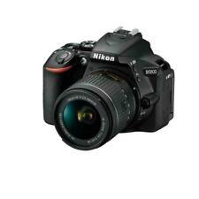 Nikon D5600 24.2MP Digitale Reflex Fotocamera - Nero (Kit con  AF-P 18-55mm VR Lens)