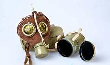 DID Dragon In Dreams 1/6th Scale WW1 German Gas Mask & Tin - Lutz