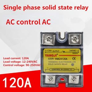 Single-phase Solid State Relay AC-AC AC Control AC YHA24120A 240VAC 120A