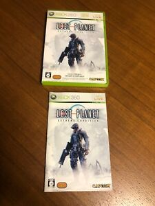Lost Planet Extreme Condition Import Japan Xbox 360 Japanese game