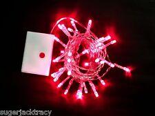 Battery 40 LED Fairy String Lights Christmas Wedding Tree Lighting Mood Light