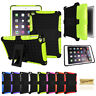 """For Apple iPad 9.7"""" 7.9"""" Tough Rubber Heavy Duty Kids Shockproof Hard Case Cover"""