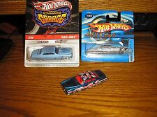 Nice Lot of 4 Different 1/64 Hot Wheels Fish'd & Chip'd Lowrider (1) Real Rider