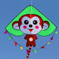 NEW MONKEY long tail Kite stunt delta Outdoor fun Sports Toys single line