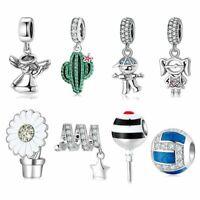 Charm Anhänger für Pandora Armband Echt Silber 925 37 Charms Frauen Geschenk Neu