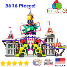 Building Blocks Super Heroes Batman Movie Series 07090 The Joker Manor Toy Model