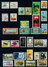 (DDR204g) DDR 1962-1971, 28 Briefmarken gestempelt