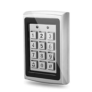 RFID 125KHz Standalone Access Control with Blue Backlit Keypad Support 1000
