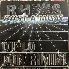 "YOUNG MC - BUST A MOVE (DON RIMINI + DIPLO REMIXES) (12"")  2008!!!  RARE!!!"
