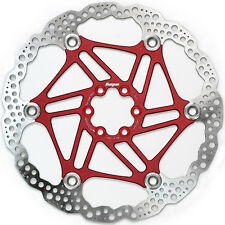 Hope 203mm 6 Bolt Floating Disc Rotor Red - Brand New