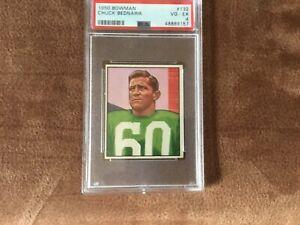 1950 Bowman Chuck Bednarik Card PSA 4
