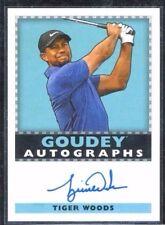 2018 UD Goodwin Champions Goudey Autograph Tiger Woods SSP Tour Champion