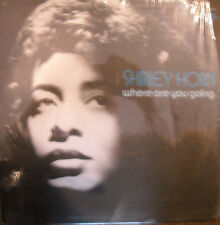 LP SHIRLEY HORN - WHERE ARE YOU GOING  1972 PERCEPTION - STILL IN SHRINK