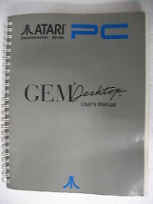 ATARI DOCUMENTATION SERIES PC3 GEMDESKTOP GEM DESKTOP USER'S MANUAL