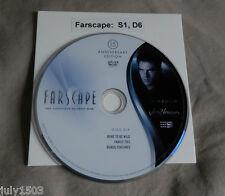 (1) NEW Farscape Season 1 Disc 6 Replacement DVD, 15th Anniversary Edition