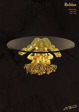 Bronze Skulptur Erotik Liebe Figur Statue Gold Kunst Geil Luxus Sofa Couch Tisch
