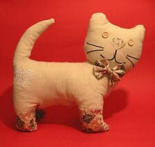 Cat Door Stop Mother Daughter Cat lover Christmas Shabby Chic style Gift