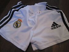 Shorts de fútbol Real Madrid 2011-2012 Talla 2 años de cintura/Bi