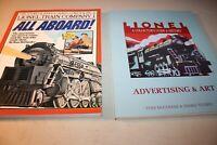 Lionel Train Company (All Aboard) & Lionel A Collectors Guide & History, Ad Art.