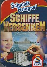 """Schmidt Bringsel """"Schiffe versenken """" - im handlichen Pocketformat Neu & OVP"""