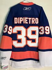 Reebok Premier NHL Jersey NEW YORK  Islanders Rick Dipietro Blue sz L