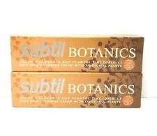Subtil Botanics Soft Hair Color Cream 9.3 Very Light Gold Blonde 2 oz Lot of 2